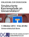 Symposium on Career Paths in German Academia